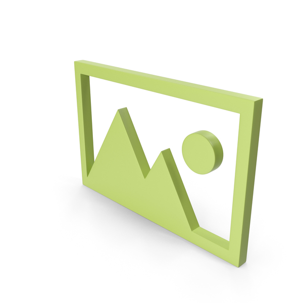 Logo: Picture Green Icon PNG & PSD Images