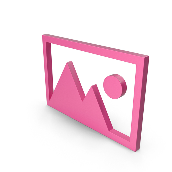 Logo: Picture Pink Icon PNG & PSD Images