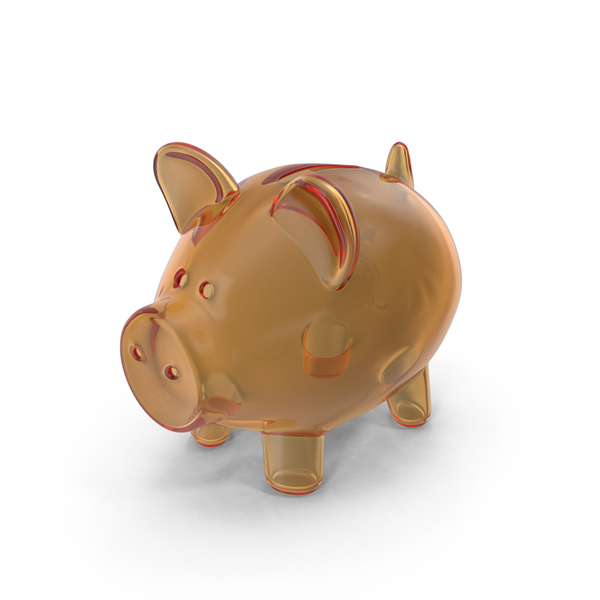 Piggy Bank Glass PNG & PSD Images