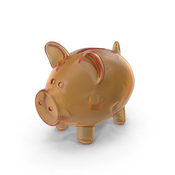 Piggy Bank Glass PNG & PSD Images