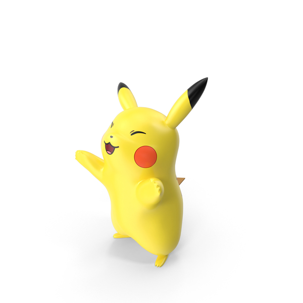Cartoon Rat: Pikachu Happy PNG & PSD Images