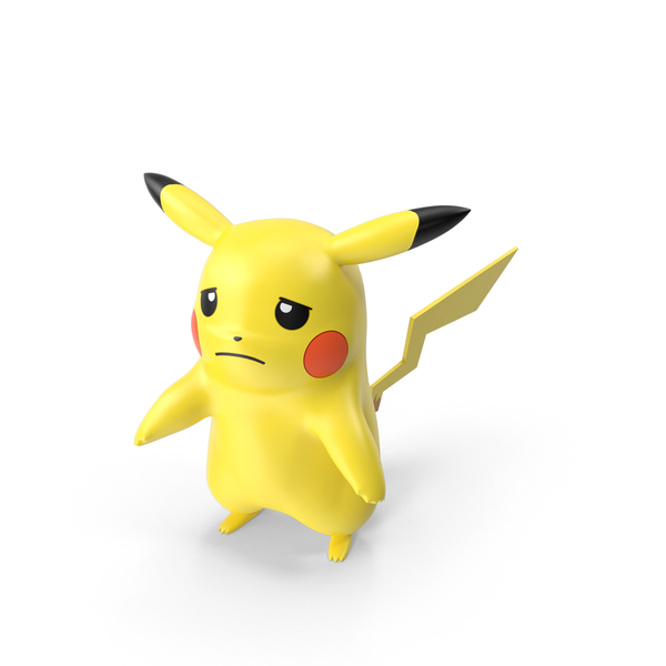 Game Character: Pikachu Sad PNG & PSD Images