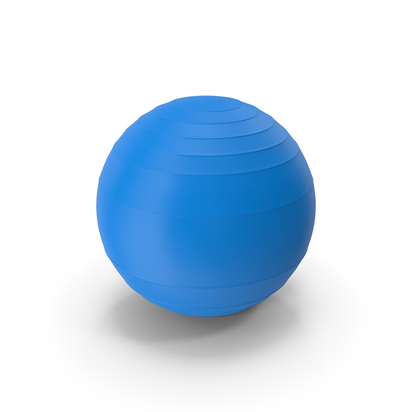 Pilates Ball Blue PNG & PSD Images