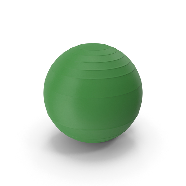 Pilates Ball Green PNG & PSD Images