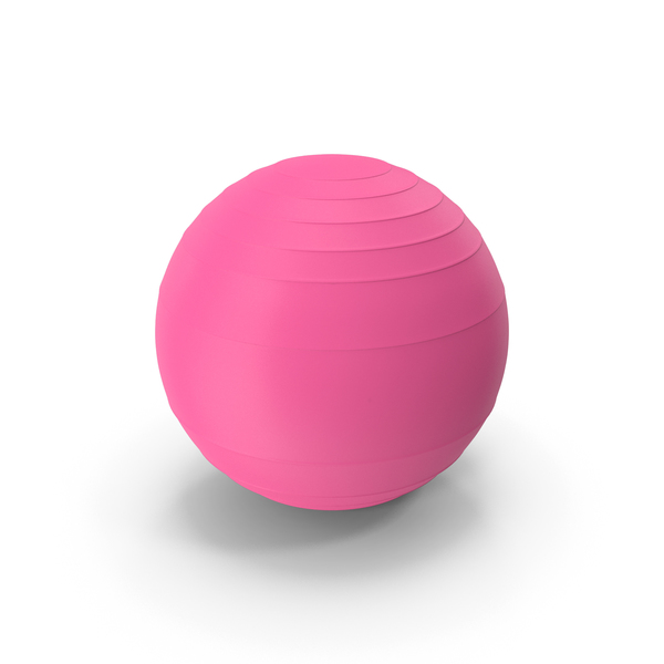 Pilates Ball Violet PNG & PSD Images