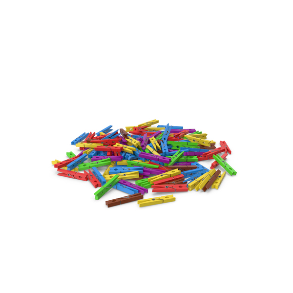 Pile Of Clothes Pegs PNG & PSD Images