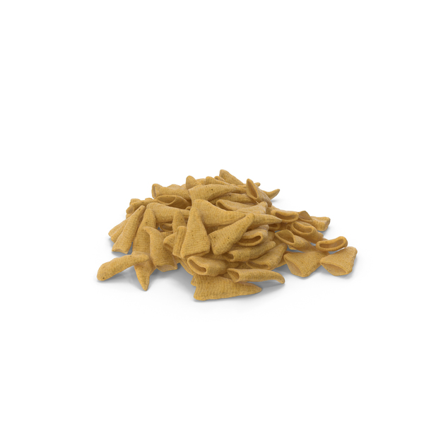 Potato: Pile of Cone Shaped Corn Snacks PNG & PSD Images
