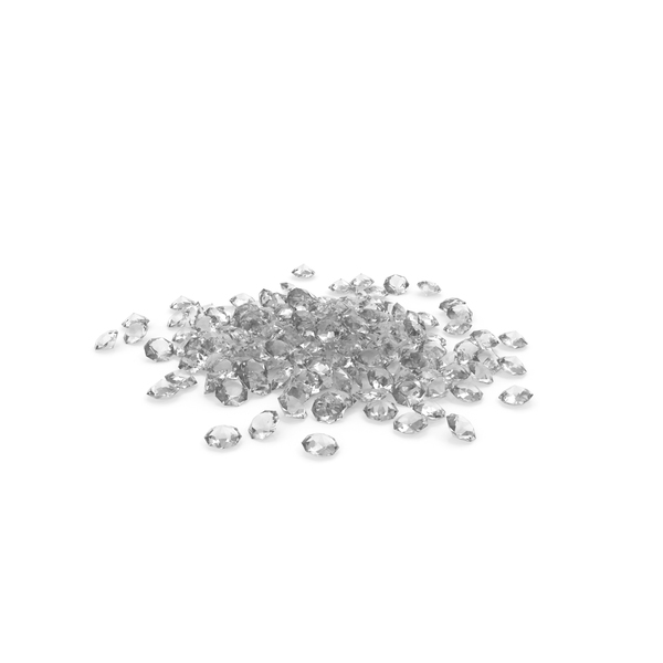 Pile Of Diamonds PNG & PSD Images