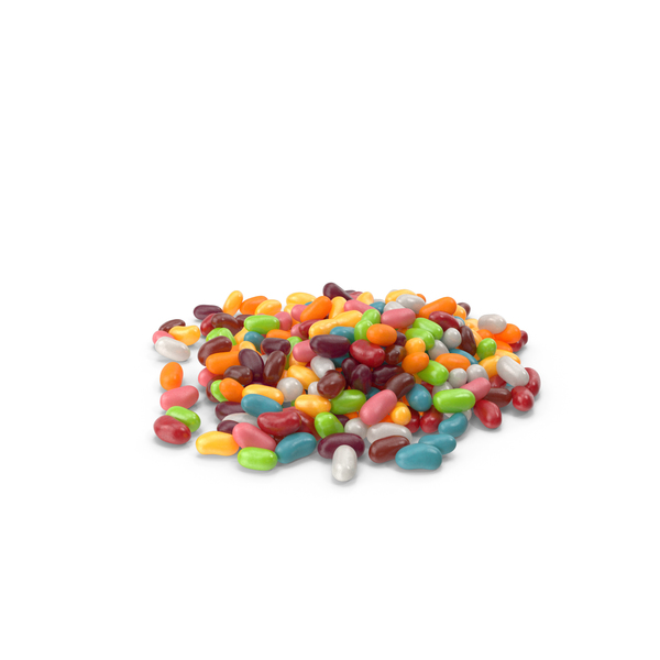 Pile of Jelly beans PNG & PSD Images