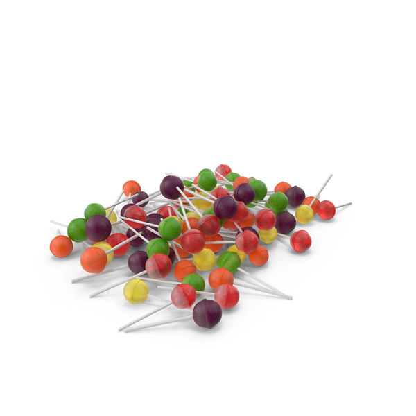 Pile of Lollipops PNG & PSD Images