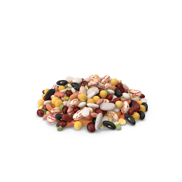 Pile of Mixed Legume Beans PNG & PSD Images