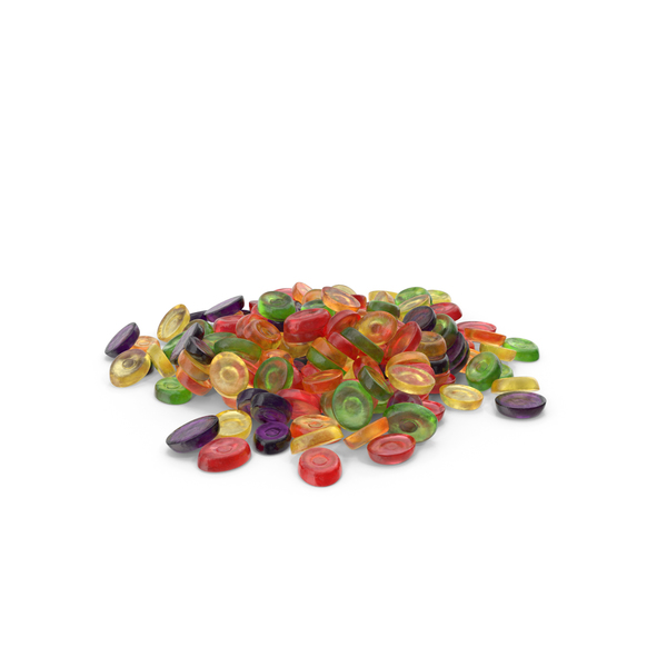 Pile of Oval Hard Candy PNG & PSD Images