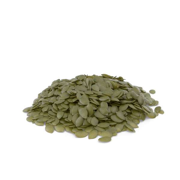Pile of Peeled Pumpkin Seeds PNG & PSD Images