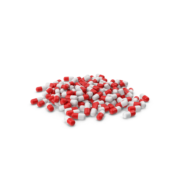 Pile of Pills PNG & PSD Images
