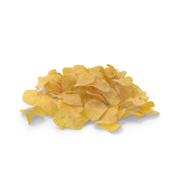 Pile of Potato Chips PNG & PSD Images