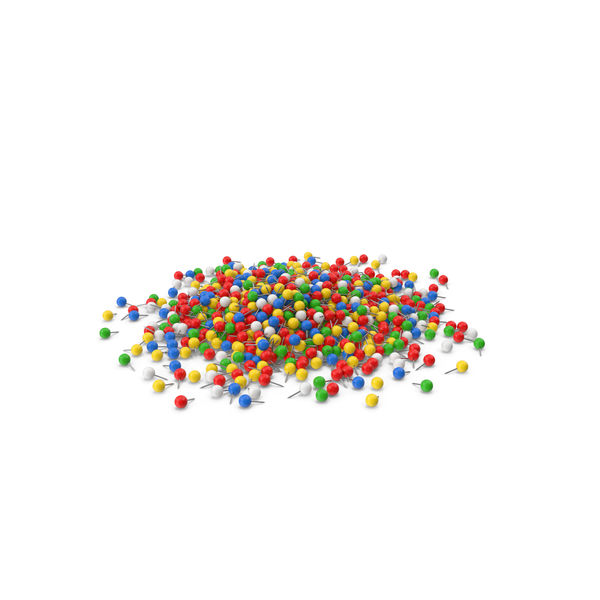 Pile Of Sphere Push Pins PNG & PSD Images