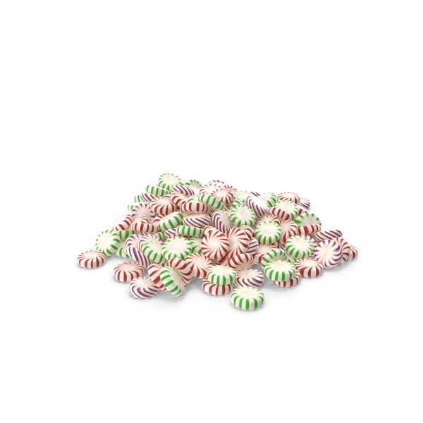Pile of StarLight Peppermint Candy PNG & PSD Images