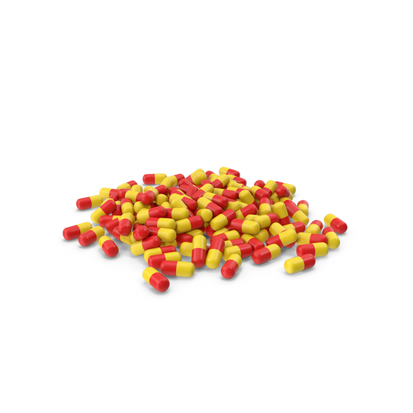 Pill: Pile of Tablets PNG & PSD Images