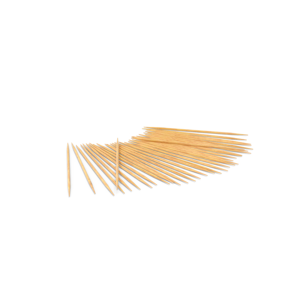 Toothpick: Pile of Wooden Toothpicks PNG & PSD Images