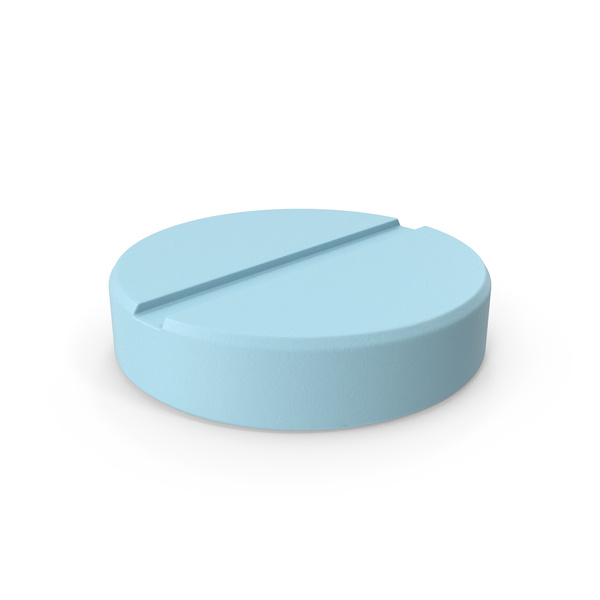 Pill Blue PNG & PSD Images