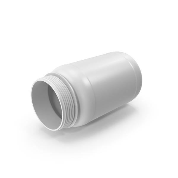 Pill Bottle No Cap PNG & PSD Images