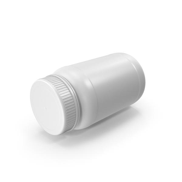 Medicine: Pill Bottle No Label PNG & PSD Images