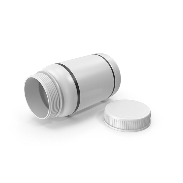 Pill Bottle Open PNG & PSD Images