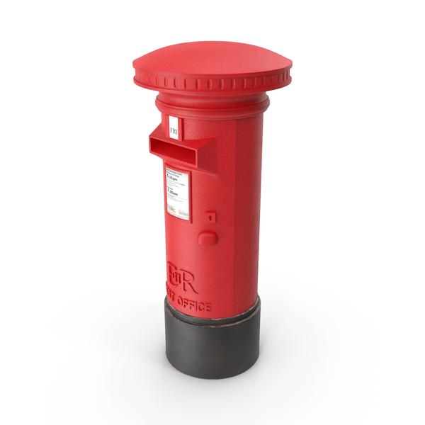 Pillar Post Box PNG & PSD Images