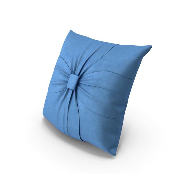 Bed: Pillow Blue PNG & PSD Images