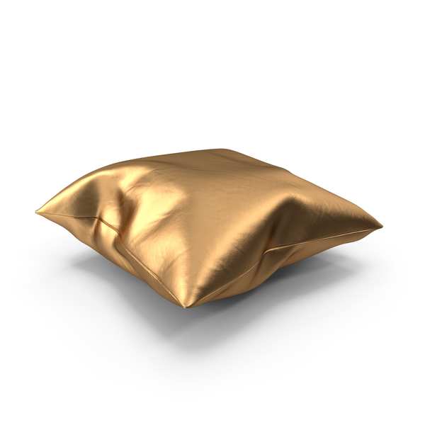Bed: Pillow Golden PNG & PSD Images