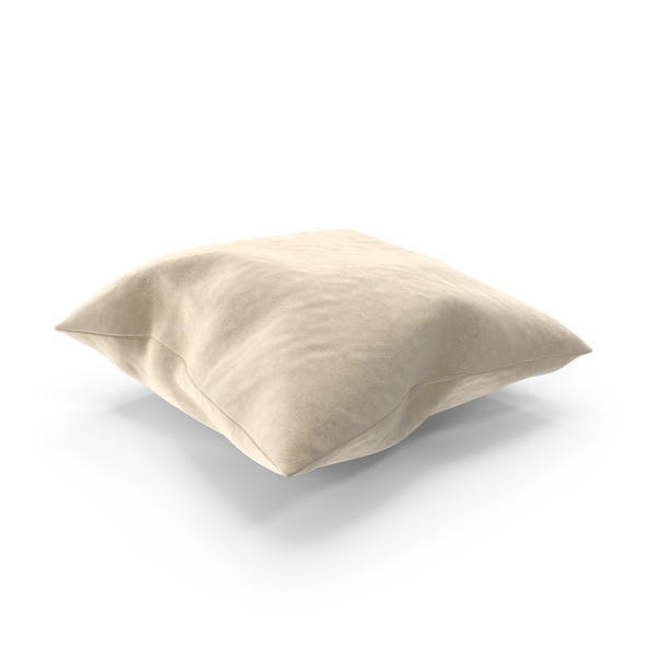 Bed: Pillow Suede PNG & PSD Images