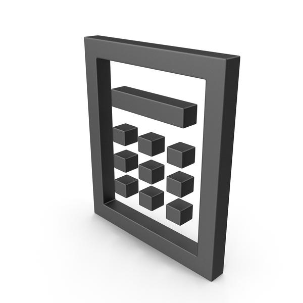 Pin Code Symbol Black PNG & PSD Images