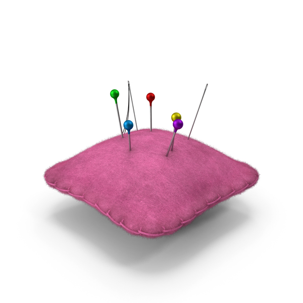 Pin Cushion with Fur PNG & PSD Images