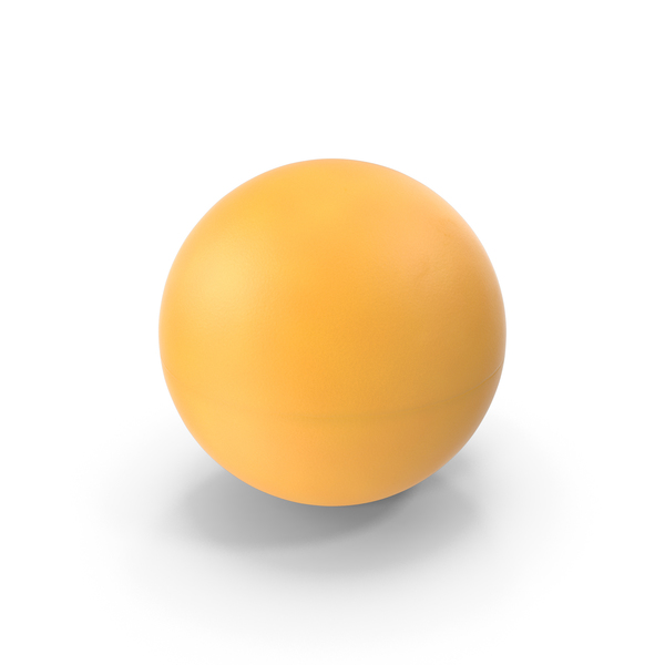 Ping Pong Ball Orange PNG & PSD Images