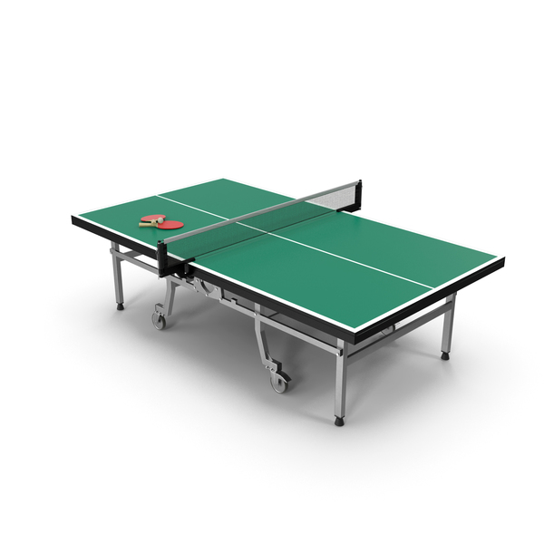 Ping Pong Table with Paddle Generic PNG & PSD Images