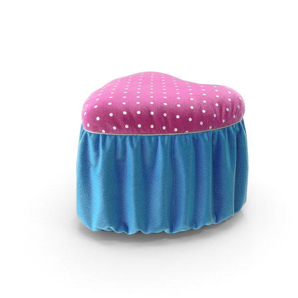 And Glittered Pouf: Poof Pink Blue Glitter PNG & PSD Images