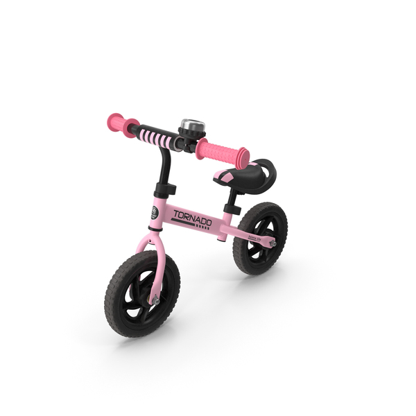 Bicycle: Pink Balance Bike PNG & PSD Images