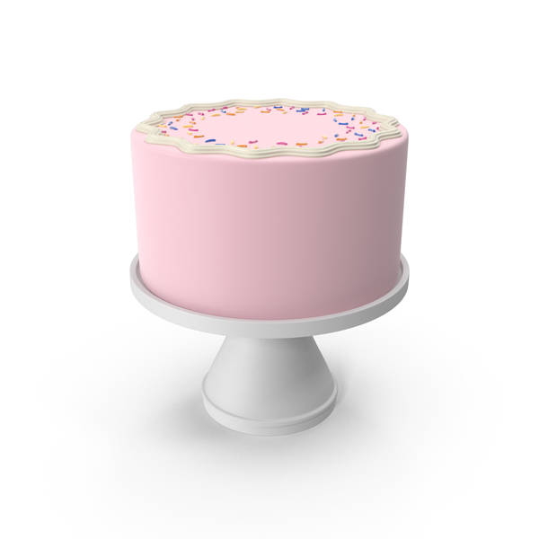 Pink Cake PNG & PSD Images