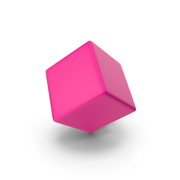 Pink Cube PNG & PSD Images