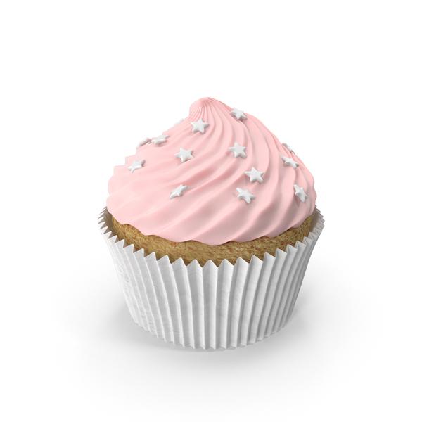 Pink Cupcake PNG & PSD Images
