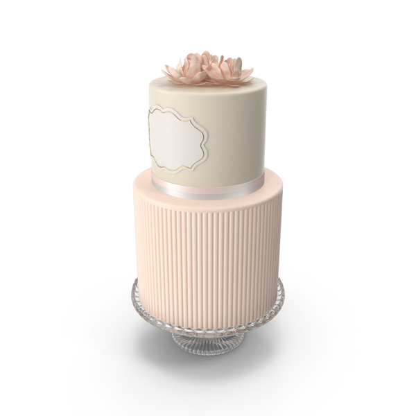 Pink Flower Cake PNG & PSD Images