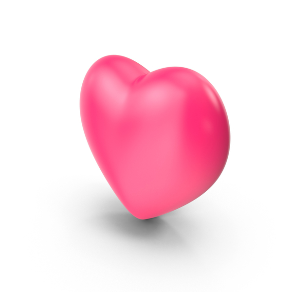 Pink Heart PNG & PSD Images