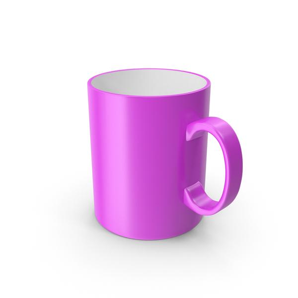 Pink Mug PNG & PSD Images