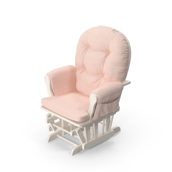 Pink Rocking Chair PNG & PSD Images
