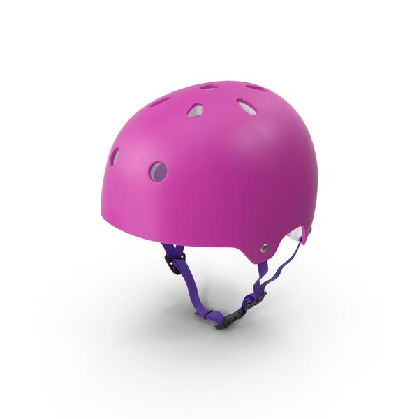 Pink Skateboard Helmet PNG & PSD Images