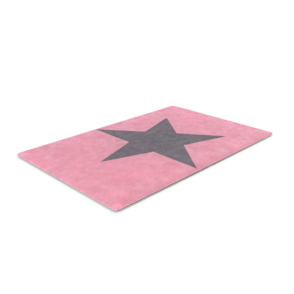 Pink Star Rug PNG & PSD Images