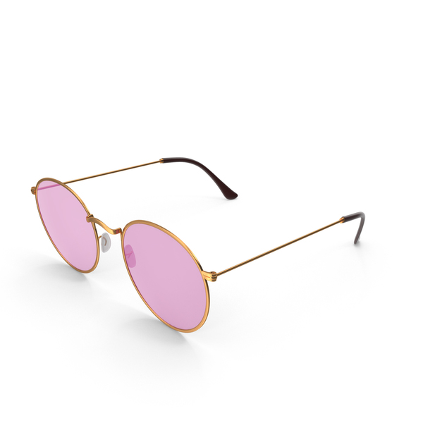Pink Sunglasses PNG & PSD Images