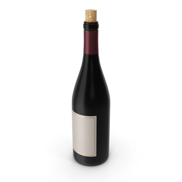 Pinot Noir Bottle Object
