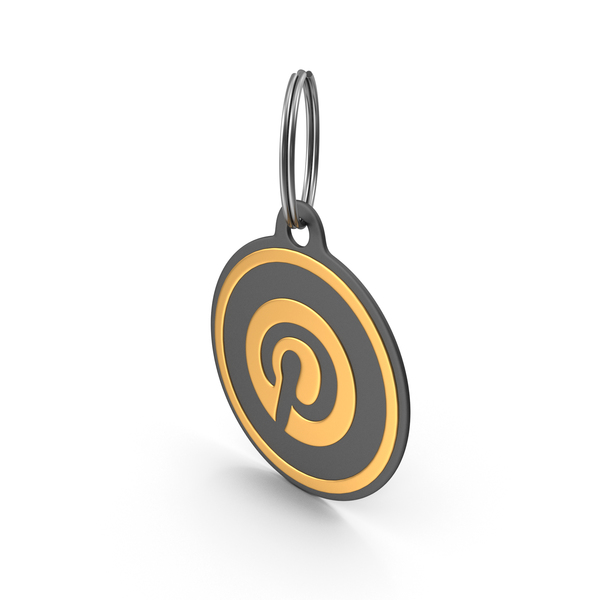 Keychain: Pinterest Logo Icon PNG & PSD Images