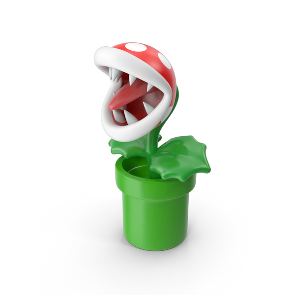 Game Character: Piranha Plant PNG & PSD Images